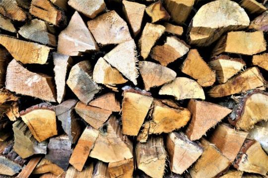 Holzscheitel Brennholz