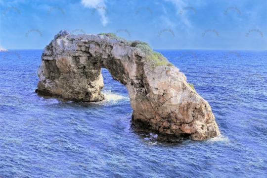 Felsen Felsentor Mallorca Spanien