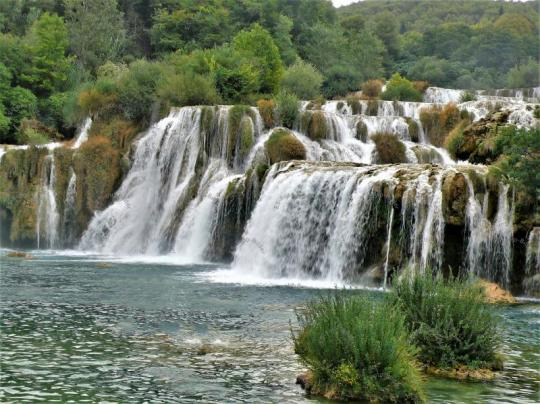 Wasserfall Kroatien Foto Bild