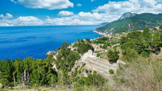 Mallorca Berge im Tramuntana Gebirge