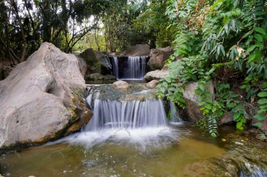 Wasserfall Foto Bild