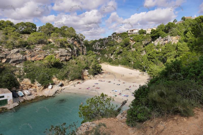 Strand Cala Pi Insel Mallorca Foto