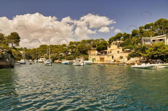 Mallorca Hafen Fischerdorf Cala Figuera