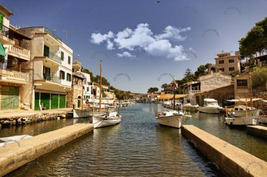 Mallorca Hafen Bucht von Cala Figuera Foto Bild